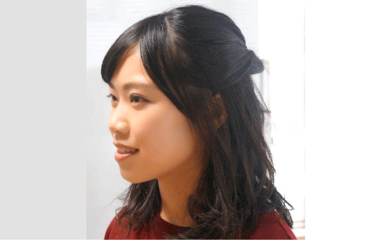 髪の毛の色と質感