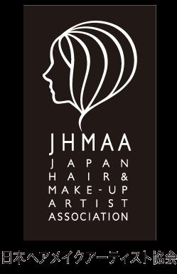 日本ヘアメイクアーティスト協会認定ロゴ