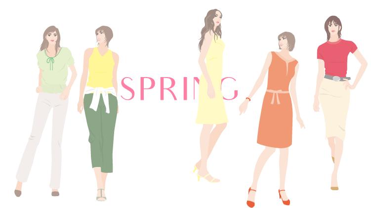 春タイプおすすめファッション