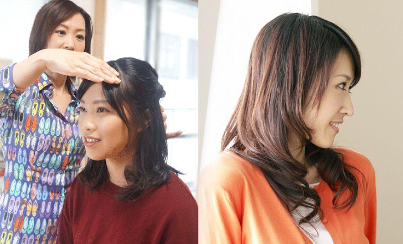 診断の流れ3:髪型診断
