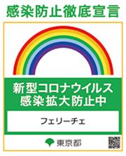 東京都新型コロナ感染防止徹底宣言
